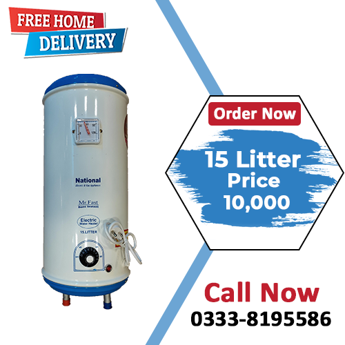 Semi Instant Electric Water Heater - (15 Litter)