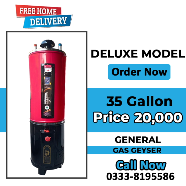 gas geyser price in lahore